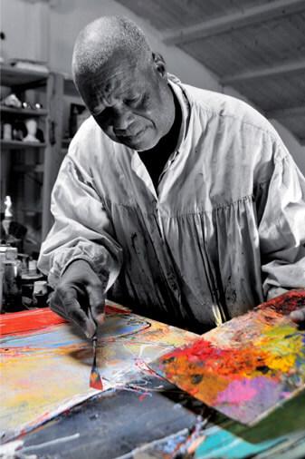 Omer Amblas : Ariste peintre Charente Maritime