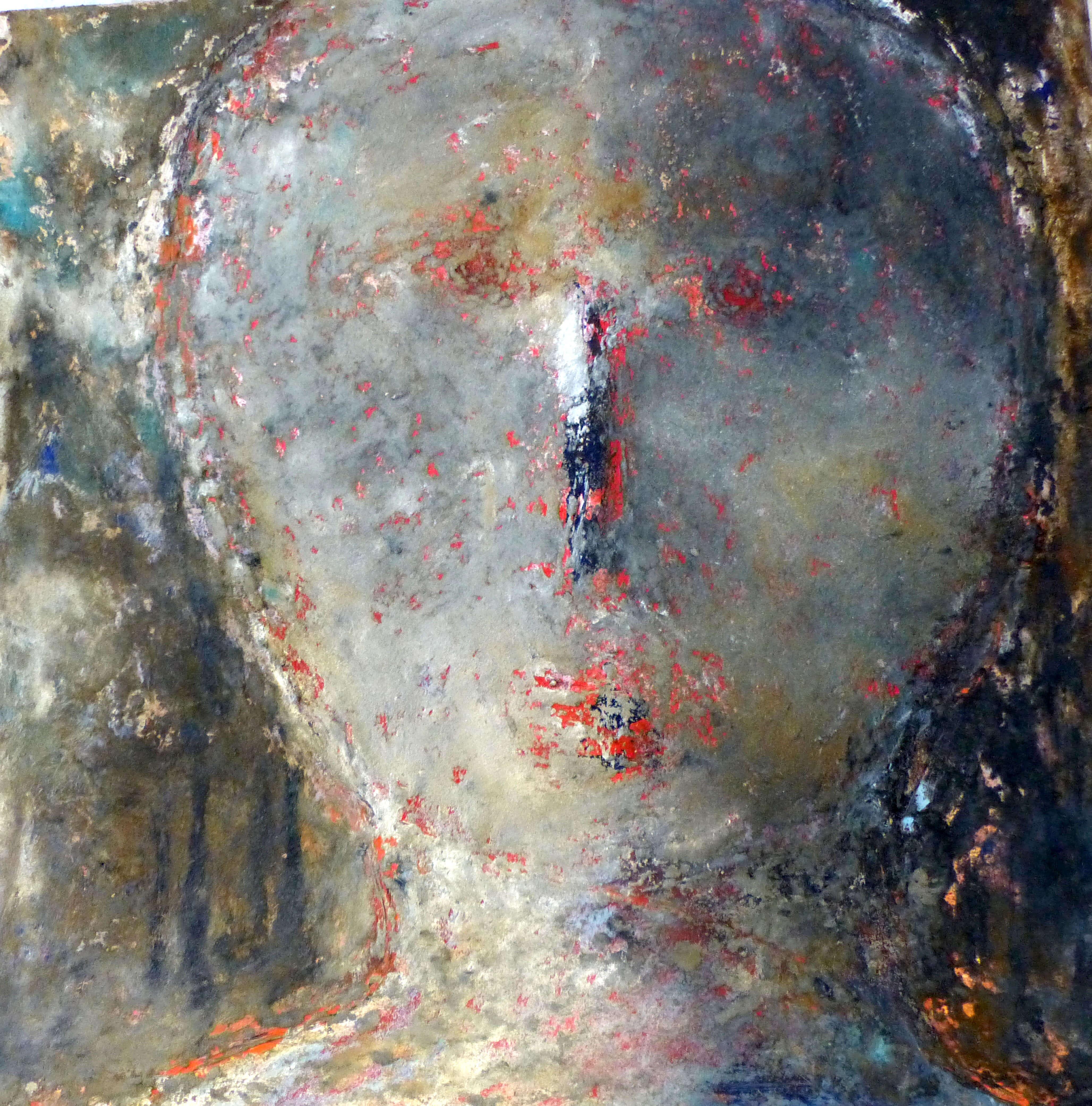 L'homme sans nom : peinture contamporaine Omer Amblas